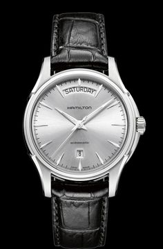 Hamilton Day Date Auto | American Classic Jazzmaster - Love this automatic. I have the one with white dial, gold hands.