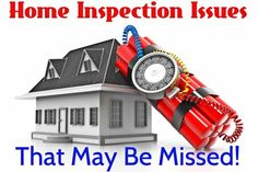 Home Inspection Issues That May Be Missed - http://www.maxrealestateexposure.com/home-inspection-problems-the-inspector-may-not-find/ via @massrealty #realestate #homeinspection
