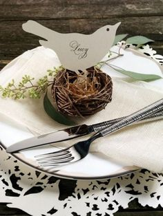 bird themed wedding decorations - Google Search