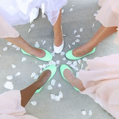 Refresh your color palette with eye-catching Mint crinkle patent Tieks. Wear these Italian leather flats with a classic pencil skirt, or pair with bold prints for a modern look. Mint Tieks are sure to put a fresh spring in your step all year round. Wedding 2017, Fall Wedding, Wedding Planner, Our Wedding, Dream Wedding, Wedding Stuff, Wedding Poses, Wedding Attire, Wedding Engagement