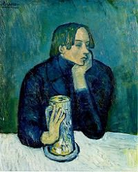 Picasso/ Poet Jaume Sabartès  (1901)