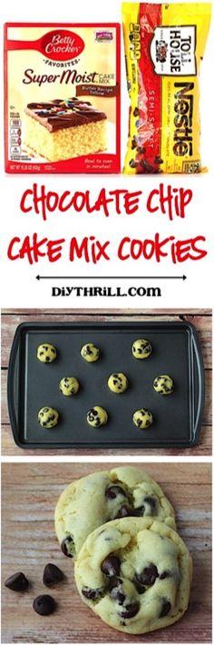 4 Ingredient Cookie Recipes – 38 Epic Cookies!