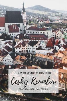 Cesky Krumluv, the Czech Republic   Day Trip from Prague   Cesky Krumlov Travel Tips #ceskykrumlov