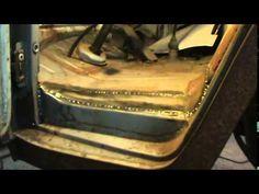vw double cab dog leg rust repair