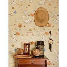 Buy Sanderson Galapagos Wallpaper, Parchment, DVOY213362 Online at johnlewis.com