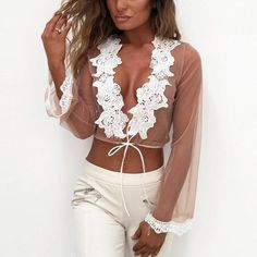 Embroidery Women Summer Blouse