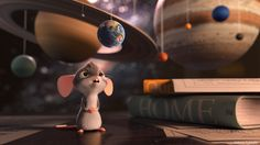 The Little Curious Mouse by Antonis Fylladitis