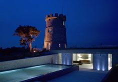 10 Amazing Lookout Towers Converted Into Homes