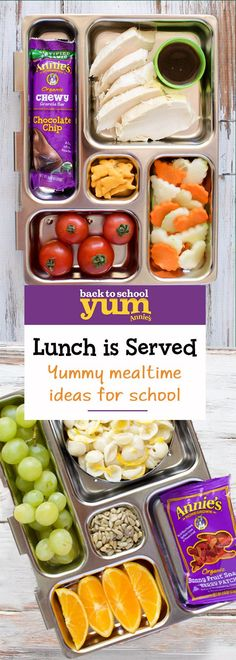 Alas, summer is almost over! Which means school is just around the corner. Get back to school ready with delicious Annie's snacks, perfect for your kid's lunch box. From berry delicious fruit snacks to chewy, chocolatey and perfectly portable granola bars, set the lunch bar high this school year with organic snacks from Annie's.