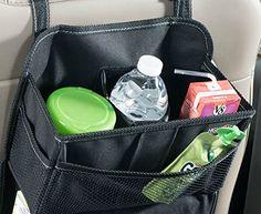 Car Seat Organizer Back Holder Multi-Pocket Auto Travel Storage Bag Hanger Tidy…