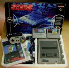 Super Nintendo Entertainment System  Image by VGC
