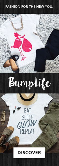 Fashion for the New You! We are so happy to announce BumpLife Co. maternity tees! Dress your bump in style!
