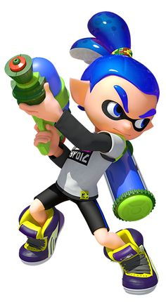 Splatoon! (Inkling Male)