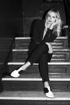Alexandra Spencer ultra chic masculine side #4thandbleeker #modeloffduty