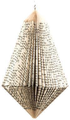 Dorisse Brilliant Folded Paper Ornament on shopstyle.com