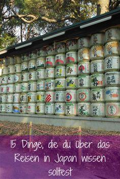 Diese 15 Dinge solltest du über Japan wissen! :-)
