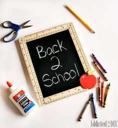 Make this simple sign to capture those first day of school memories with your kids year after year.