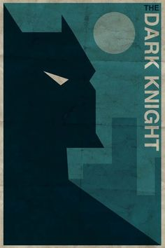 Batman Vintage Style Super Hero Poster