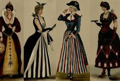 26 Halloween #Costume Ideas from an 1887 Guide to Fancy Dress | Mental Floss - I think I can adapt some of these ideas for #SCA #garb