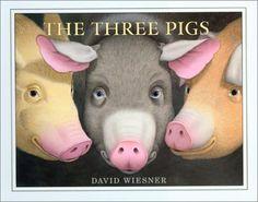 Caldecott Medal 2002:  The Three Pigs by David Wiesner.