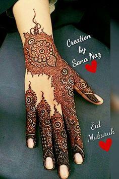Kashee's Mehndi Designs, Floral Henna Designs, Back Hand Mehndi Designs, Stylish Mehndi Designs, Mehndi Design Photos, Wedding Mehndi Designs, Beautiful Henna Designs, Mehndi Patterns, Mehendhi Designs