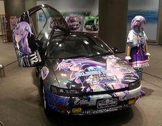 Japans Itasha Guild searches for the official Hyperdimension Neptunia itasha design
