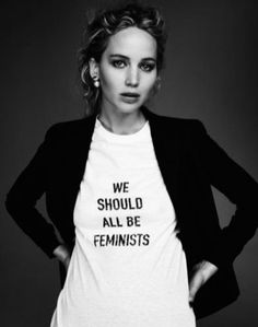 Join the movement with this We Should All Be Feminists T Shirt | Let Your Slogan T-shirt Be Your Fashion Statement