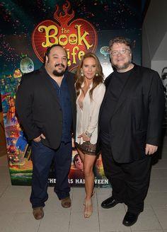 Kate Del Castillo Photos Photos - Jorge R.Gutierrez,Kate del Castillo and Guillermo del Toro,attends 'THE BOOK OF LIFE' Red Carpet at Regal South Beach 18 on October 13, 2014 in Miami, Florida. - 'The Book of Life' Premieres in Miami