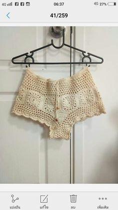 Crochet Pants, Crochet Clothes, Swimsuit Pattern, Crochet Bikini, Boho Chic, Crochet Patterns, Cute Outfits, Swimsuits, Crop Tops