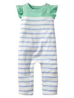 Gap Striped Flutter One Piece
