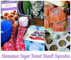 Sofella Cinnamon Sugar Donut Muffin Mix - Bundt Cupcakes