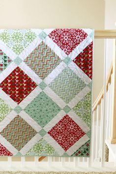 My Custom Christmas Quilt - JennyM's Quilt Company