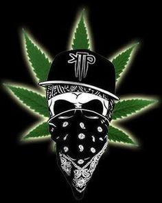 Weed Marijuana Glitter Graphics | All Graphics » skull weed