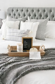 Master Bedroom Fall Refresh