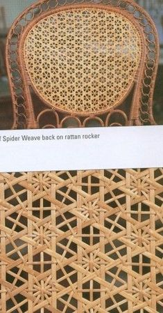The Art of Caning Straw Weaving, Bamboo Weaving, Paper Weaving, Weaving Art, Weaving Patterns, Basket Weaving, Bamboo Art, Bamboo Crafts, Furniture Repair