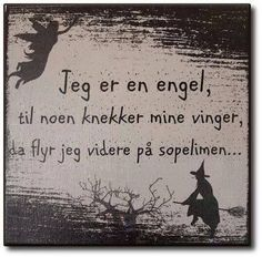 I am an angel, until someone breaks my wings, then I fly on the broom. Words Quotes, Wise Words, Me Quotes, Sayings, Proverbs Quotes, Weird Facts, Satire, Haha Funny, Cool Words