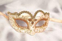 black white and gold masks | Small Masquerade Masks - Masquerade Masks for Kids - Piccolina Gold