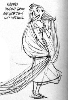 rapunzel-study-by-glen-keane