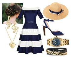 """Fair Josie"" by alex-mason-1 ❤ liked on Polyvore featuring L.K.Bennett, Finn, Stella & Dot and Audemars Piguet"