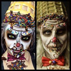 My recreation of Face Off Season 2 makeup by Matt 'Ice Cream Man'