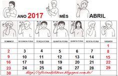 Oficina de Libras: Calendário 2017 em Libras