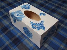 UNIQUE GIFT Tissue box tissue cover wooden by folkmania on Etsy