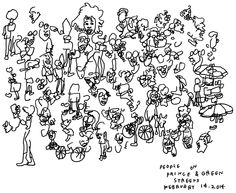 Jason Polan Has Drawn Every Person In New York (almost)