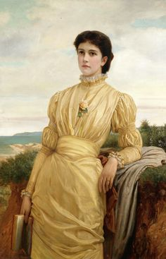 Charles Edward Perugini (1 September 1839 - 22 December 1918), originally Carlo Perugini, was an Italian-born British painter of the Victorian era.      Perugini was born in Naples, but lived with his family in England from the ages of six to 17. He trained in Italy under Giuseppe Bonolis and Giuseppe Mancinelli, and in Paris under Ary Scheffer. He became a protégé of Lord Leighton, who brought him back to England in 1863.