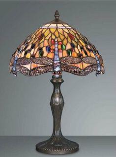 Dragonfly Tiffany Table Lamp: Amazon.co.uk: Lighting