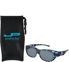 c5a055db72 Jonathan Paul Polarized Fitovers Sunglasses with AR Coating — QVC.com