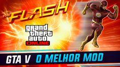 GTA V ONLINE - THE FLASH - MELHOR MOD PARA PC - GTA 5 MODS - Video --> http://www.comics2film.com/gta-v-online-the-flash-melhor-mod-para-pc-gta-5-mods/  #TheFlash