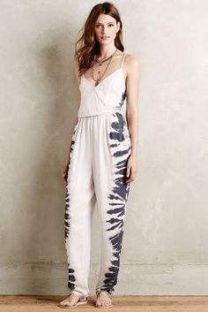 Dolan Left Coast Shibori Sands Jumpsuit #anthrofave
