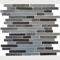 "KITCHEN BACKSPLASH  $29.70      Sheet size: 11 3/4"" x 11 3/4""      Tile Size: Random Bricks, Glass & Stone      Tiles per sheet: 68      Tile thickness: 1/4""      Grout Joints: 1/8""      Sheet Mount: Mesh Backed"