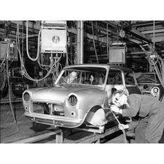 Longbridge Mini assembly-1959 photo by mab01uk